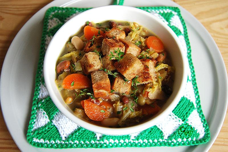 Zuppa di cereali - Cerealiensuppe