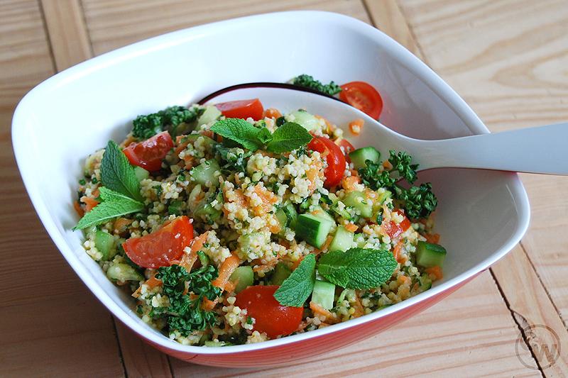Hirse-Couscous-Salat