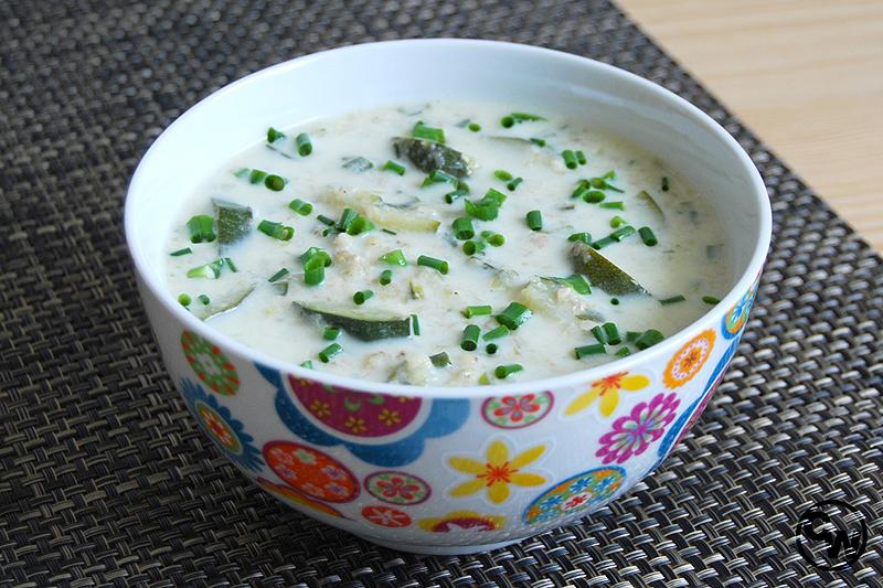 Zucchini-Buchweizen-Suppe