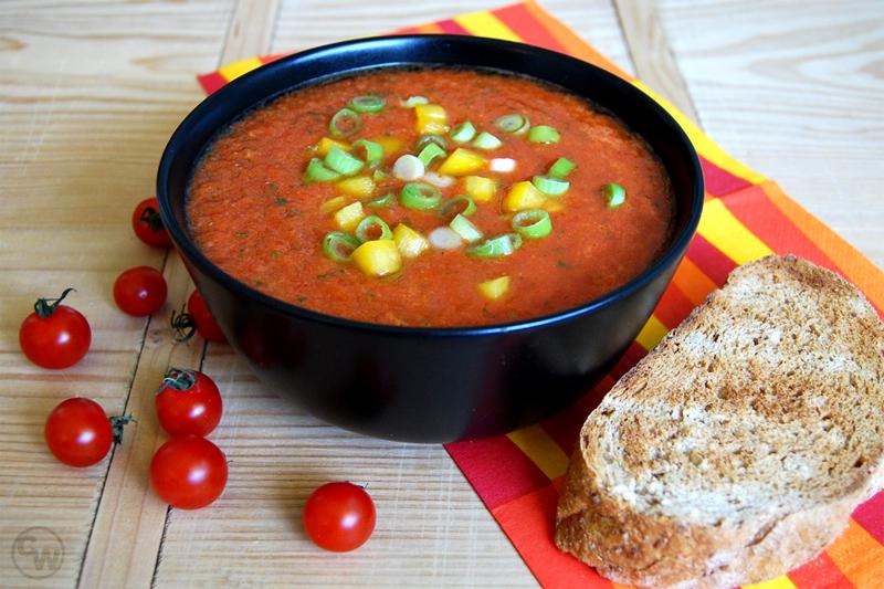 Gemüse-Gazpacho